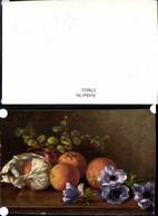 579933,Künstler Ak M. Billing Orangen Blumen Stillleben Essen - Küchenrezepte