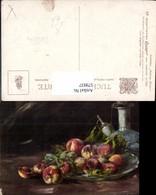 579937,Künstler Ak Nidia Lonza Südfrüchte Pfirsiche Stillleben Essen Raphael Tuck Son - Küchenrezepte
