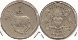 Botswana 1 Pula 1991 KM#24 - Used - Botswana