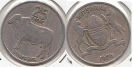 Botswana 25 Thebe 1976 KM#6 - Used - Botswana