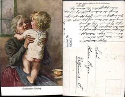 580893,Künstler Ak Großmutters Liebling Frau Als Mutter Großmutter Kind - Frauen