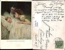 580894,Künstler Ak Clarene F. Underwood Eltern M. Kind Frau Als Mutter The Greatest T - Frauen