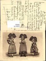 580900,Mädchen Kinder In Tracht Schwalbenschwanz Kuchen Blumen Alsace Elsass - Kinder