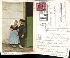 580912,Kinder Bub Junge Mädchen Tracht Niederlande Holzschuhe - Kinder