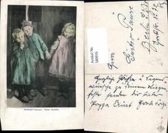 580916,Künstler Ak Berthold Genzmer Meine Modelle Kinder - Kinder