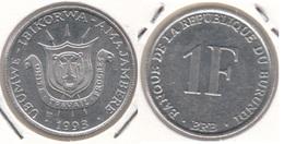 Burundi 1 Franc 1993 KM#19 - Used - Burundi