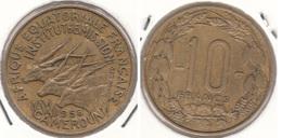 Camerun 10 Francs 1958 KM#11 - Used - Cameroun
