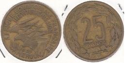 Camerun 25 Francs 1958 KM#12 - Used - Camerun