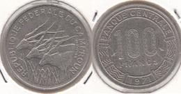 Camerun 100 Francs 1971 KM#15 - Used - Camerun