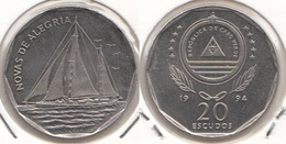 Capo Verde 20 Escudos 1994 KM#42 - Used - Cape Verde
