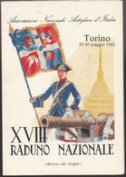 DOC3) TORINO 1982 ASSOCIAZIONE NAZIONALE ARTIGLIERI D'ITALIA TORINO 1982 INVITO - Altri