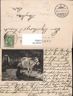 579953,Künstler Ak J. Dupre La Vache Blanche Frau B. Melken Kuh Landwirtschaft - Bauern