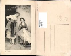 579979,Künstler Ak E. V. Blaas Jeunes Venitiennes Frauen Nähen Heimarbeit Hausarbeit - Berufe