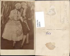 580019,Foto Ak Paar Barock Mode Theaterszene Theater Film - Ansichtskarten