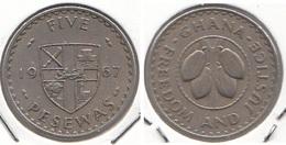 Ghana 5 Pesewas 1967 KM#15 - Used - Ghana