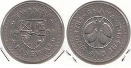 Ghana 20 Pesewas 1967 KM#17 - Used - Ghana