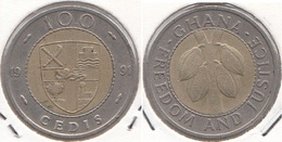 Ghana 100 Cedis 1991 KM#32 - Used - Ghana