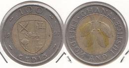 Ghana 100 Cedis 1997 KM#32 - Used - Ghana