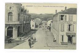 CPA 63 AMBERT NOUVELLE AVENUE DE LA GARE - Ambert