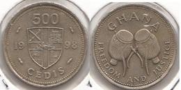 Ghana 500 Cedis 1998 KM#34 - Used - Ghana