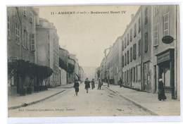 CPA 63 AMBERT BOULEVARD HENRI IV - Ambert