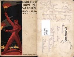 Victor Theodor Slama Arbeiter Turn Und Sportfest Turnen Turnfest Wien 1926 - Ansichtskarten