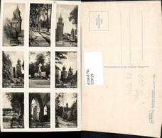 579729,Seltene AK Zerteilbar Patent Pyrzyce Pyritz Stettiner Tor Kriegerdenkmal Altes - Polen