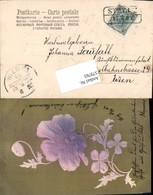 579765,Präge Lithographie Blumen Jugendstil Art Nouveau Stp. Stryj - Ansichtskarten