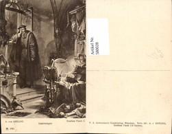 580028,Künstler Ak A. V. Kreling Theaterszene Goethe Faust Ostermorgen Pub F. A. Acke - Ansichtskarten