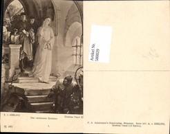 580029,Künstler Ak A. V. Kreling Theaterszene Goethe Faust Das Verlassene Gretchen Pu - Ansichtskarten