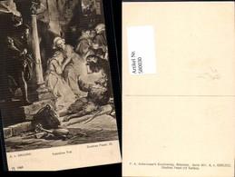 580030,Künstler Ak A. V. Kreling Theaterszene Goethe Faust Valentins Tod Pub F. A. Ac - Ansichtskarten