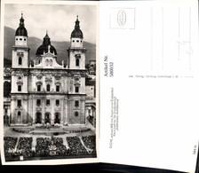 580032,Foto Ak Salzburg Dom Jedermann Aufführung Theaterszene Theater - Ansichtskarten