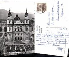 580033,Foto Ak Salzburg Dom Jedermann Aufführung 1962 Theaterszene Theater - Ansichtskarten