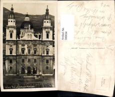 580034,Foto Ak Salzburg Dom Jedermann Aufführung Festspiele Theaterszene Theater - Ansichtskarten