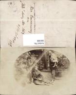580388,Graz Weh Dem Der Lügt 1919Gruppenbild Schauspieler Kostüme Theaterszene Theate - Ansichtskarten