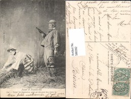 580392,Jean Et Jeannet Humor Theater Theaterszene - Ansichtskarten