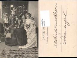580398,Soyez La Bienvenue 1903 Theater Theaterszene - Ansichtskarten