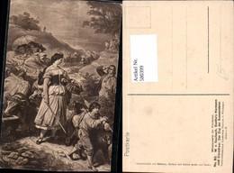 580399,Künstler Ak W. V. Kaulbach Goethes Hermann U. Dorothea Zug Auswanderer Theater - Ansichtskarten