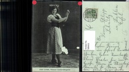 580416,Fini Lusk Wiener Liedsängerin Opernsänger Oper - Ansichtskarten