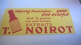 BUVARD Vos Sirops T NOIROT - Limonadas - Refrescos