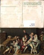 580444,Künstler Ak Jean Baptiste Greuze La Malediction Paternelle 19 Jhdt. Streit Pub - Ansichtskarten