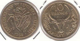 Madagascar 10 Francs 1984 F.A.O. KM#11 - Used - Madagascar