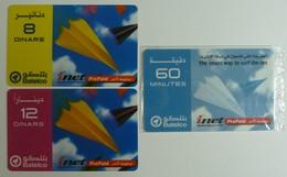 BAHRAIN - Remote Memory - Prepaid - Batelco - Set Of 3 -  Mint And Used - Bahrain