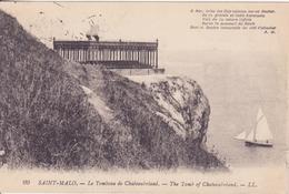 CPA - 99. St Malo Le Tombeau De Châteaubriand - Saint Malo