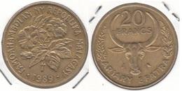 Madagascar 20 Francs 1989 KM#12 - Used - Madagascar