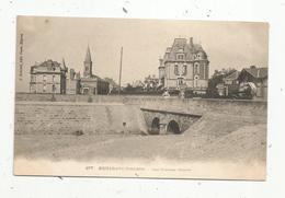 Cp, 14 , HOULGATE- VILLERS , Les Vaches Noires , Bonne Légende : Le Pont Sur Le DROCHON, Dos Simple ,vierge - Houlgate