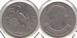 Malawi 5 Tambala 1989 KM#9.2a - Used - Malawi