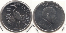 Malawi 5 Tambala 1995 KM#26 - Used - Malawi
