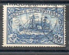 N°23 Oblitere (sans Filigrane) Cote 45 Euros Net 10 Euros - Colony: German South West Africa