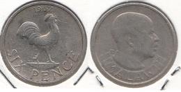 Malawi 6 Pence 1967 KM#1 - Used - Malawi